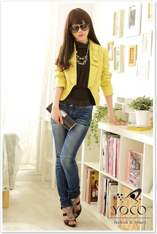 مدل کت زرد دخترانه