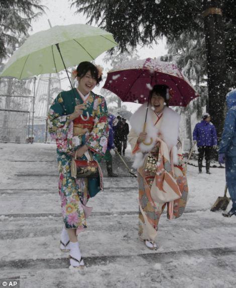 دختران ژاپنی