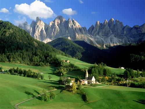 طبیعت ایتالیا