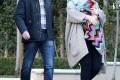 عکسهای جدید ادل به همراه فرزند و نامزدش