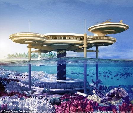 هتل زیردریایی