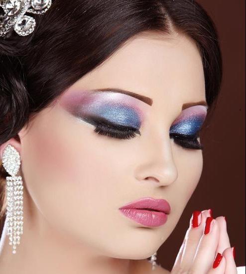 مدل آرایش قشنگ و زیبای عروس 2013