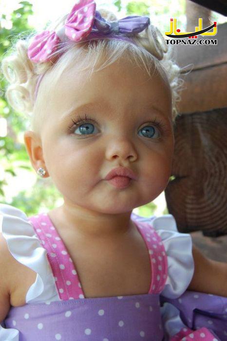 دختر چشم رنگی