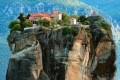 مکان زیبای بهشت آسمان در یونان +عکس