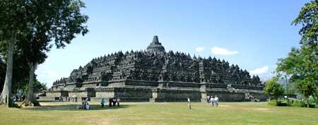معبد بوروبودر,معبد بوروبودر در اندونزی