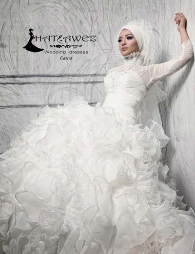 لباس عروس با حجتب