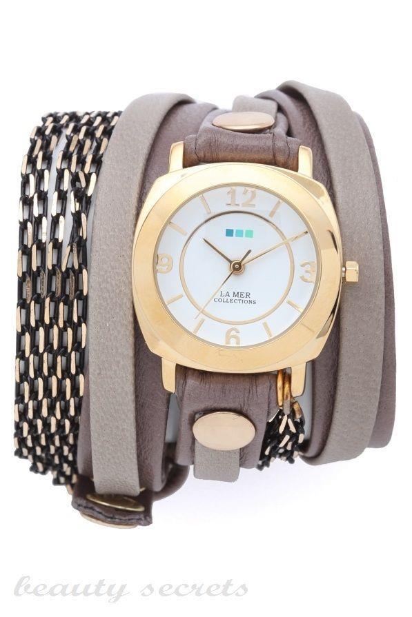 مدل ساعت چرم