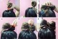 آموزش تصویری مدل موی پاپیونی