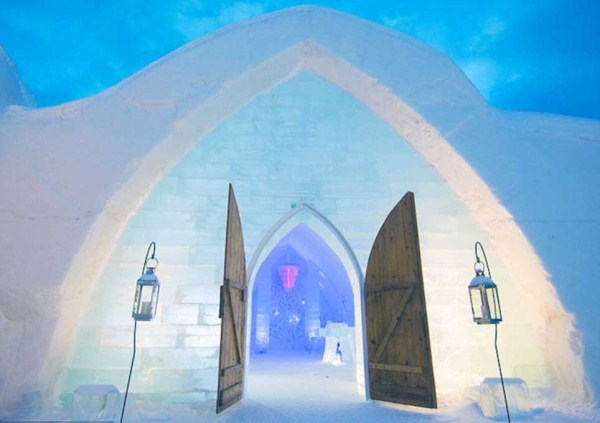 118 Ice Hotel in Canada (24 photos)