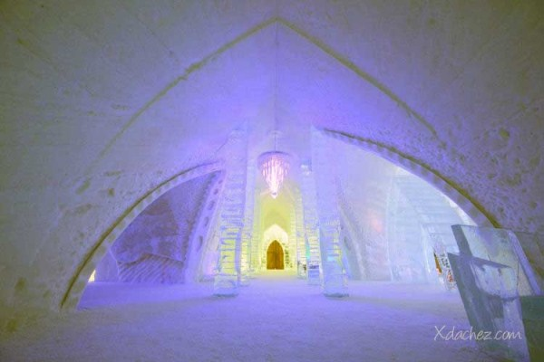 222 Ice Hotel in Canada (24 photos)