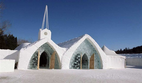 75 Ice Hotel in Canada (24 photos)