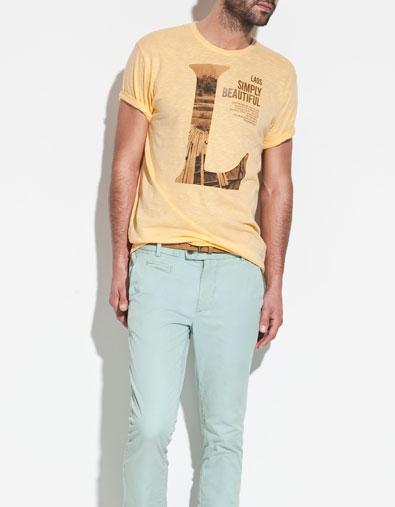 تی شرت پسرانه زارا
