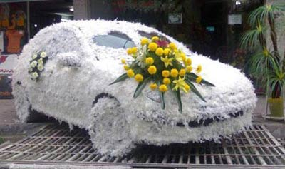 مدل ماشین عروس 2013