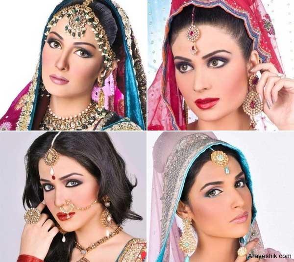 آرایش چهره هندی
