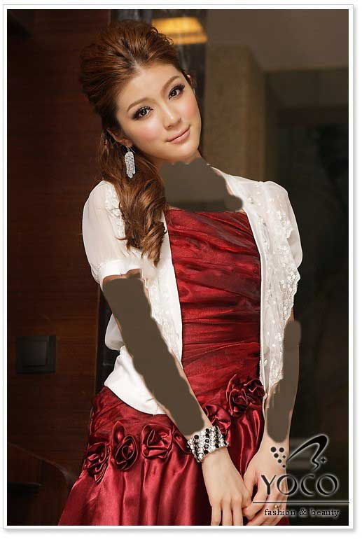 لباس مجلسی قرمز رنگ سال ۹۲