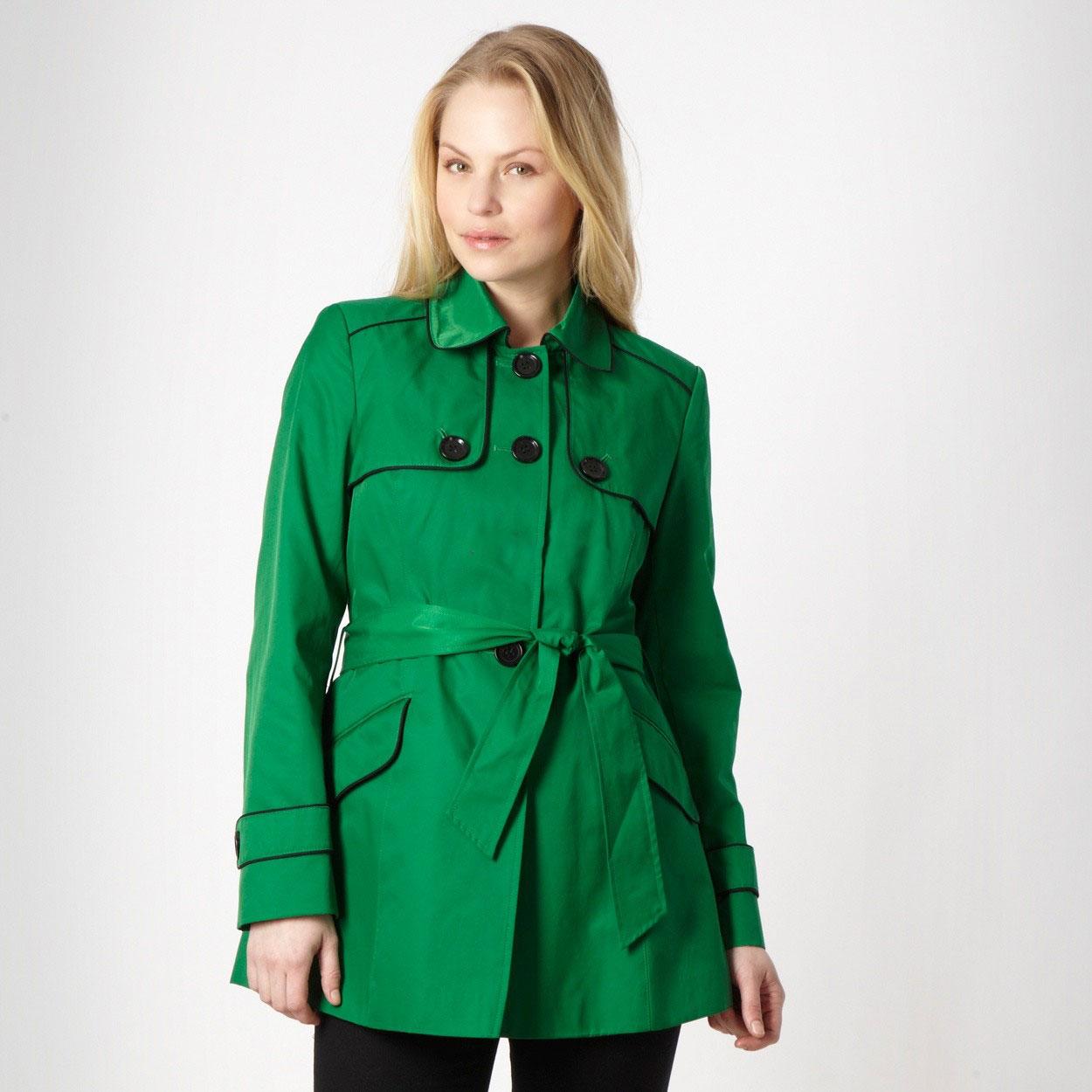 مدل مانتو سبز رنگ 2013