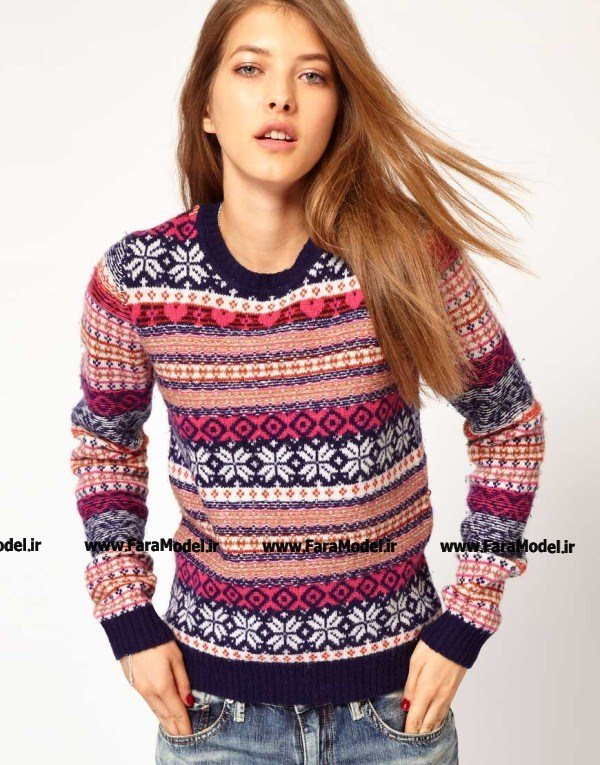 مدل لباس زمستانی 2013,