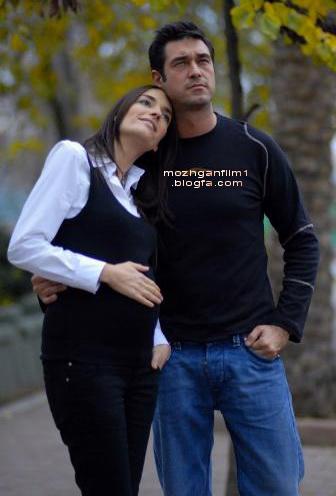 حسین کنان و همسرش - بازیگر سریال از بوسه تا عشق