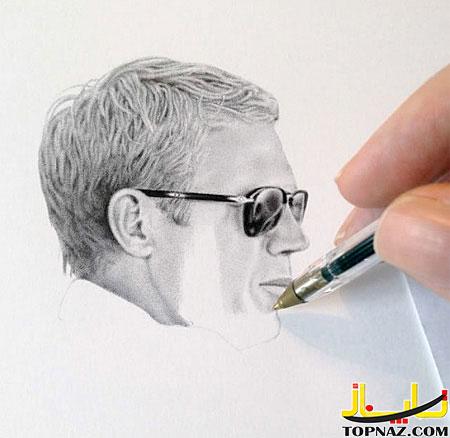 نقاشی با خودکار