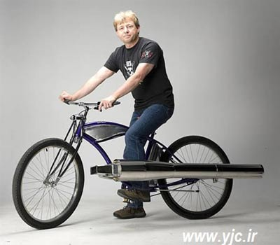وسایل دست ساز,جالبترین وسایل دست ساز,رولس رویس خانگی,دوچرخه با موتور جت