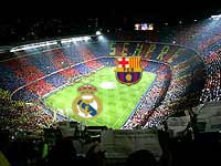 بازی رئال و بارسلونا