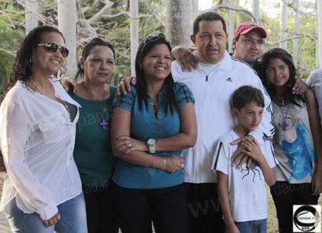 خانواده هوگو چاوز