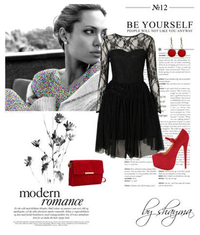 مدل لباس شب آنجلینا جولی