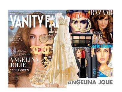 مدل لباس شب آنجلینا جولی ANJELINA JOLIE