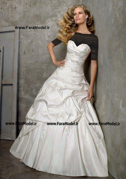 مدل لباس عروس خارجی