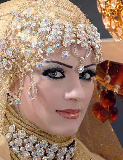 مدل ارایش خلیجی عید نوروز 92