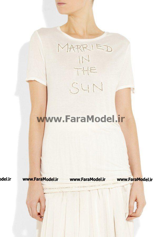 مدل تی شرت زنانه