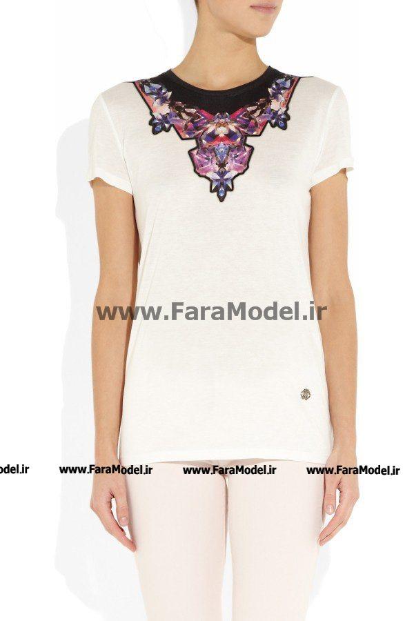 مدل تی شرت بهاره