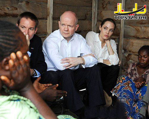 انجلینا جولی در کنگو