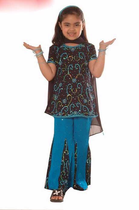 لباس هند بچه گانه