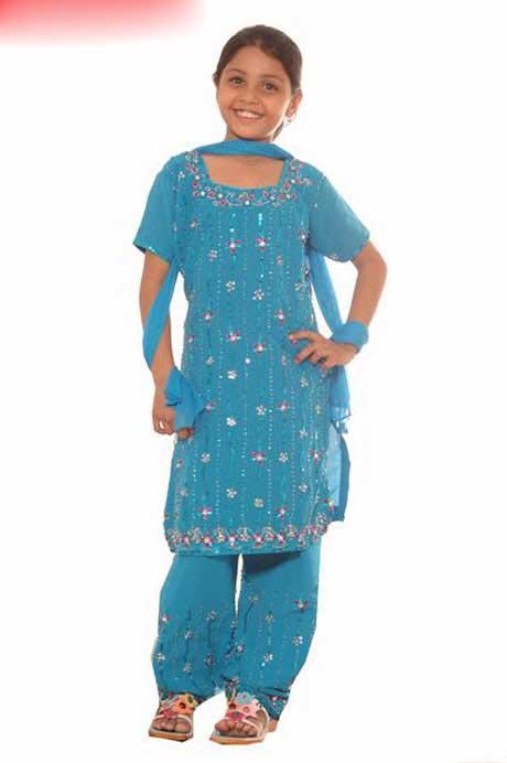 لباس هندی دخترانه