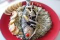 سبزی پلو با ماهی / غذای شب عید