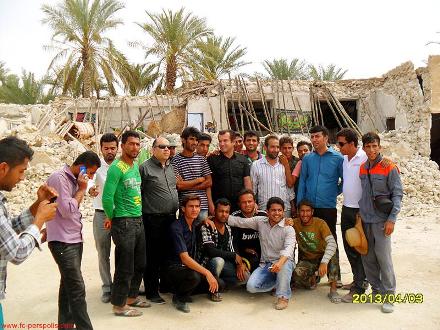 حمید استیلی در بوشهر