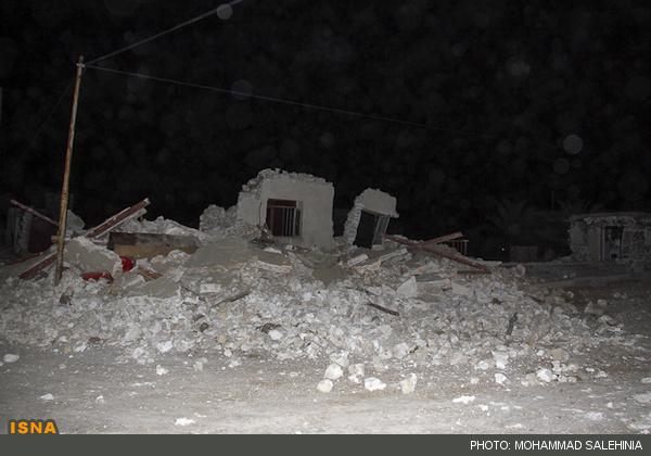 تصاویر زلزله
