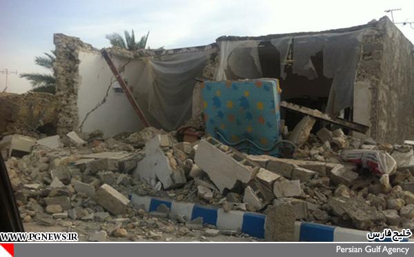 عکس زلزله بوشهر