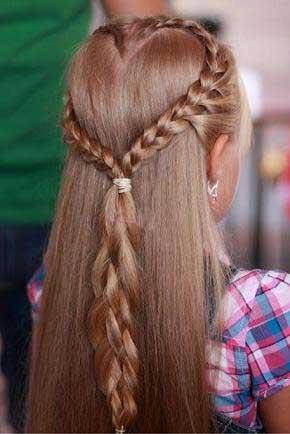 مدل موی دخترهای کوچولو