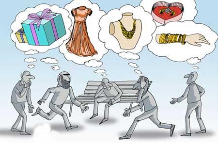 کاریکاتور روز زن