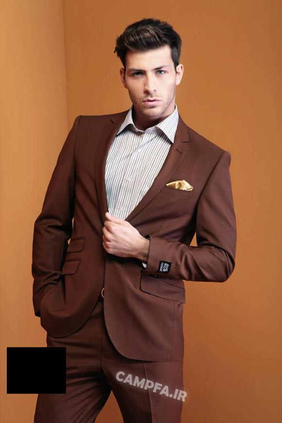 کت سفید مجلسی مردانه مدل جدید کت و شلوار دامادی 92