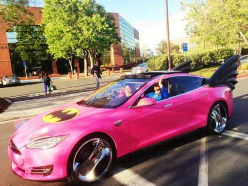 اتومبیل بسیار جالب موسس گوگل