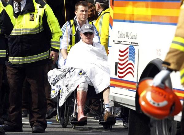 1719 Boston Marathon Bombing (30 photos)