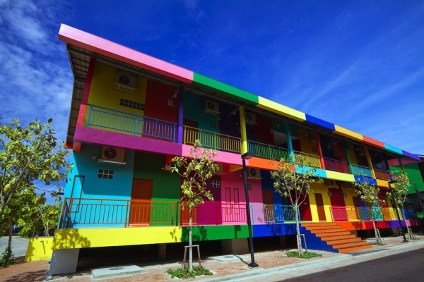 711 The Most Colorful Cities In The World (24 photos)