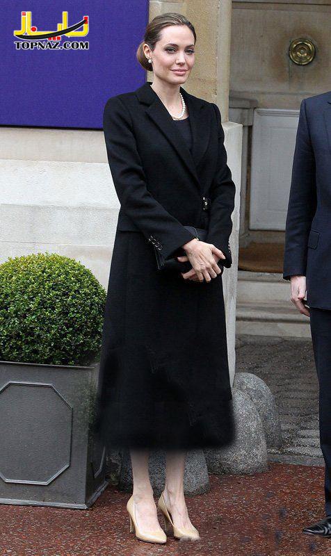 آنجلینا جولی در لندن
