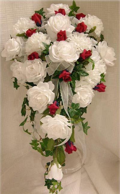 دسته گل آبشاری عروس
