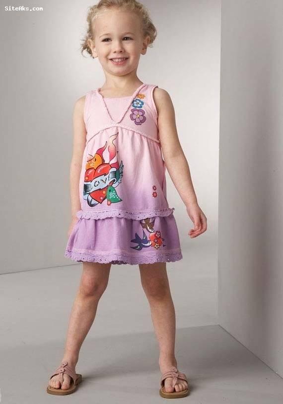 دختر بچه های خوش لباس