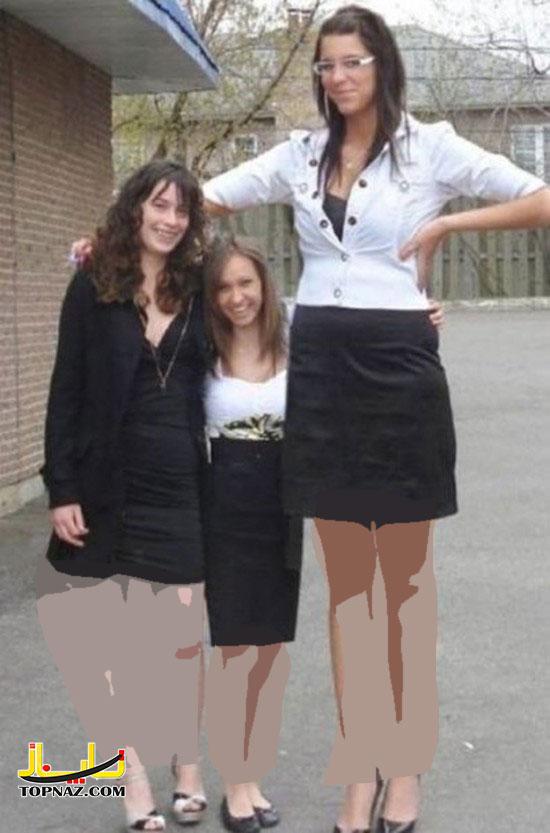 زنان قدبلند