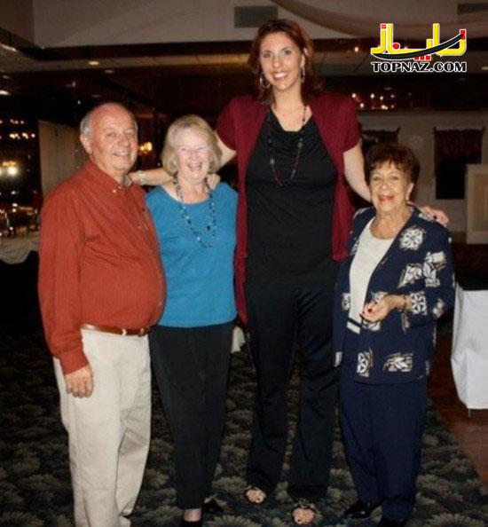 عکس زنان قدبلند